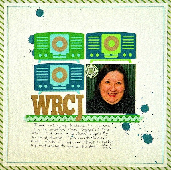 Ideas for Scrapbook Page Storytelling with Retro Tech Motifs |Sue Althouse | Get It Scrapped