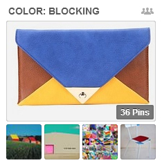Get Scrapbooking Ideas from Color-Blocked Fashions, Home Decor, Art, and More