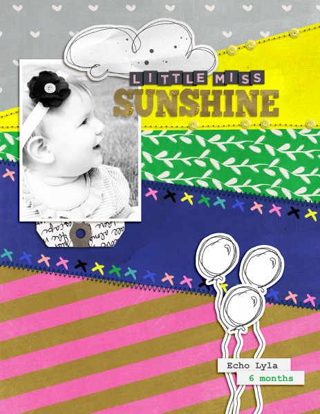 Scrapbooking Ideas for Using the Sight Lines in Your Photos | Amy Kingsford | Get It Scrapped