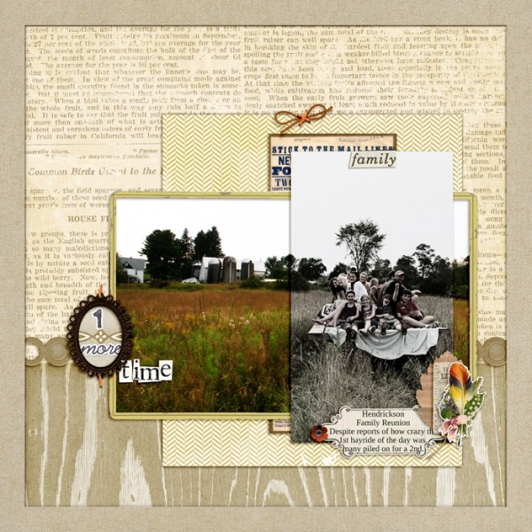 Scrapbooking Ideas for Layered Photo Treatments | Debbie Hodge | Get It Scrapped