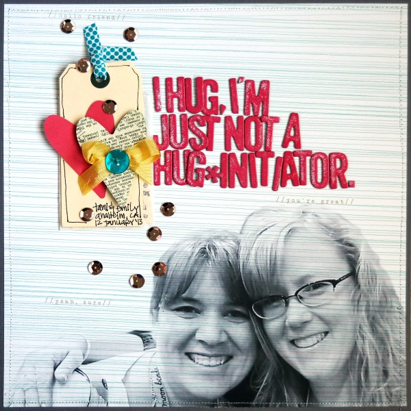 """Layout by Emily Pitts for Get it Scrapped Membership """"Photo Play"""" eBook"""