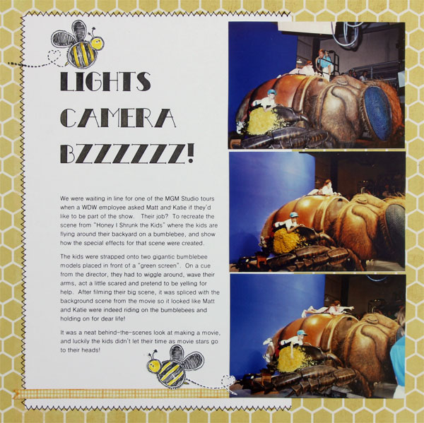 Ideas for Scrapbook Page Storytelling with Photos of Bugs and Critters | Brenda Becknell | Get It Scrapped