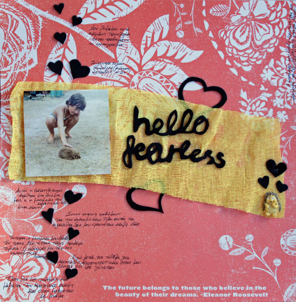 Ideas for Scrapbook Page Storytelling with Photos of Bugs and Critters | Kiki Kougioumtzi | Get It Scrapped