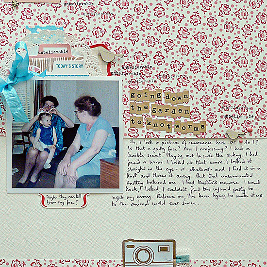 Ideas for Scrapbook Page Storytelling with Photos of Bugs and Critters | Sian Fair | Get It Scrapped