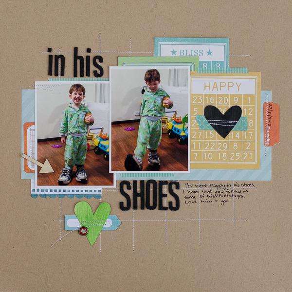 Scrapbooking Ideas Inspired by Doris Sander's Layouts | Kristy T | Get It Scrapped