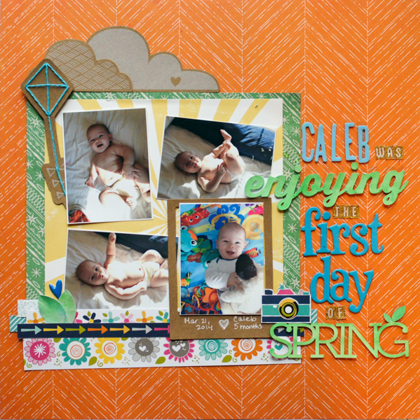 Scrapbooking Ideas Inspired by Emily Pitts' Layouts | Marcia Fortunato | Get It Scrapped