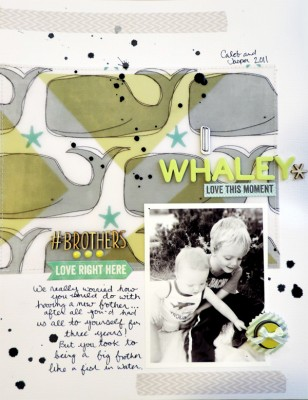 Scrapbooking Ideas Inspired by Amy Kingsford's Layouts  | Amy Kingsford | Get It Scrapped