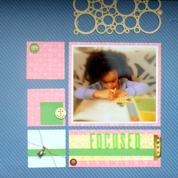 Scrapbook Page Storytelling with the Modern Nautical Style | Rosann Santos-Elliott | Get It Scrapped