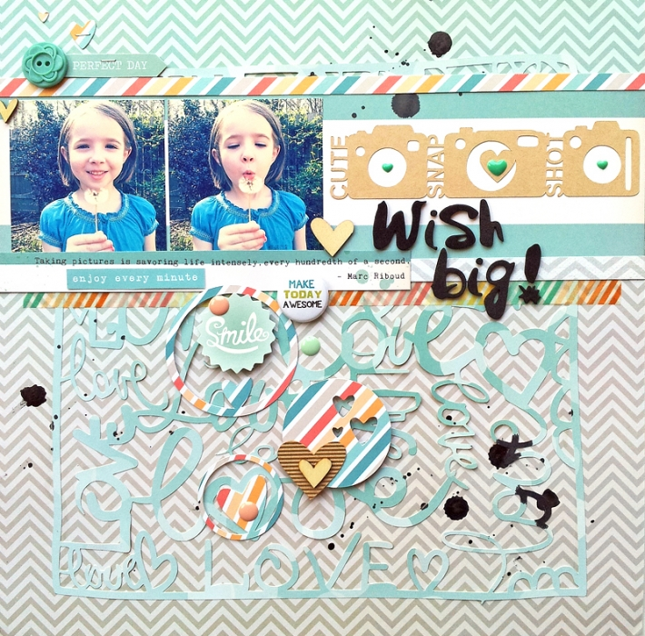 Scrapbook Page Storytelling with Retro-Filtered Photos | Ashley Horton | Get It Scrapped