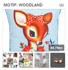 Get Scrapbooking Ideas from Woodland Motif Pins