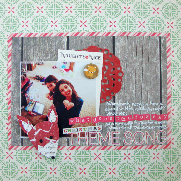 Get Scrapbooking Ideas from Woodland Motif Pins | Michelle Houghton | Get It Scrapped