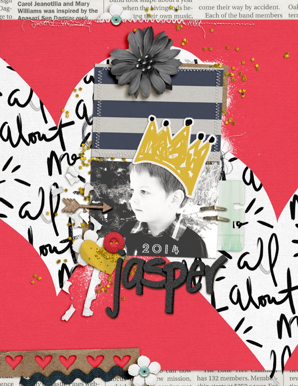 Ideas for Scrapbook Page Storytelling with Trendy Brush Script Elements | Amy Kingsford | Get It Scrapped