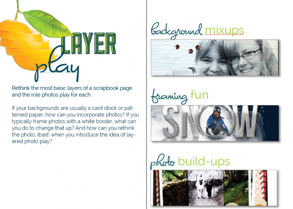 Scrapbooking Ideas for Layered Photo Treatments | Get It Scrapped
