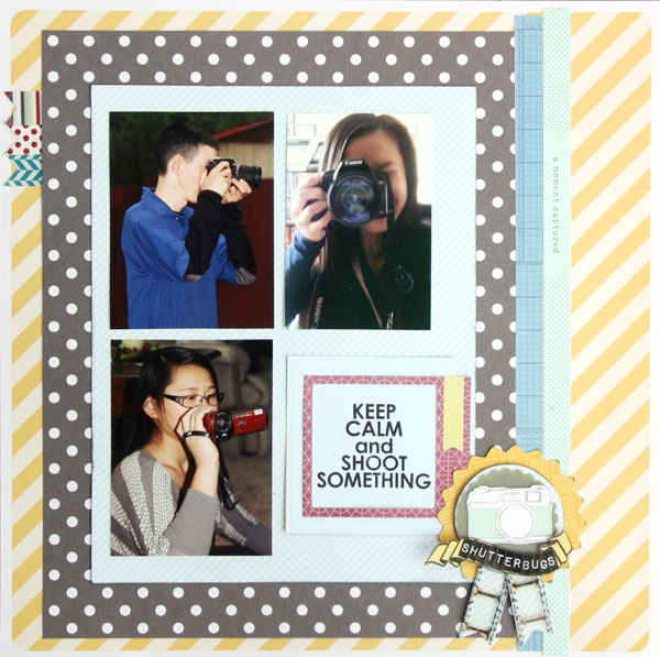 Ideas for Scrapbook Page Storytelling with Badges | Brenda Becknell | Get It Scrapped