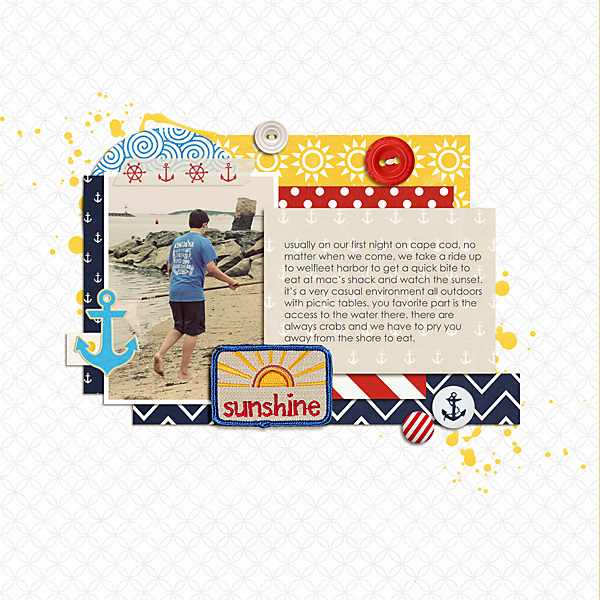 Ideas for Scrapbook Page Storytelling with Badges | Celeste Smith | Get It Scrapped
