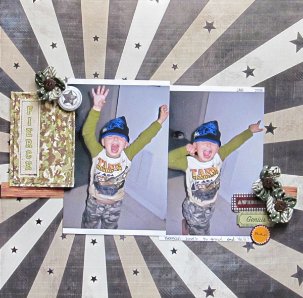 Ideas for Scrapbook Page Storytelling with Badges | Christy Strickler | Get It Scrapped