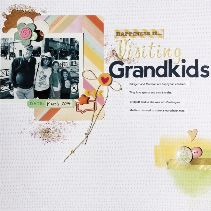 Scrapbooking Ideas Inspired by Amy Kingsford's Layouts  |Karen Poirier-Brode | Get It Scrapped
