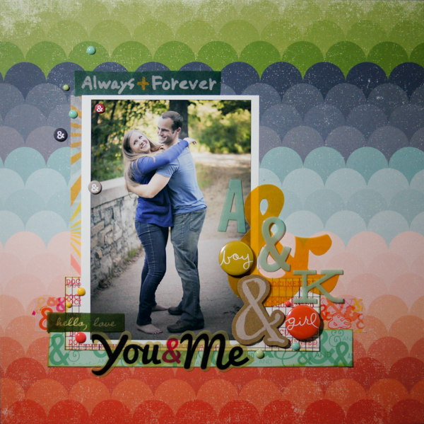 Scrapbooking Ideas Inspired by Amy Kingsford's Layouts  |Marcia Fortunato | Get It Scrapped