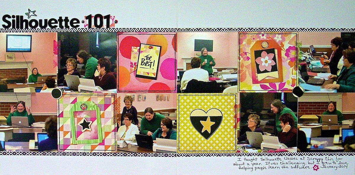 Scrapbook Design Ideas for Two-Page Layouts with Grid Foundations | Sue Althouse | Get It Scrapped