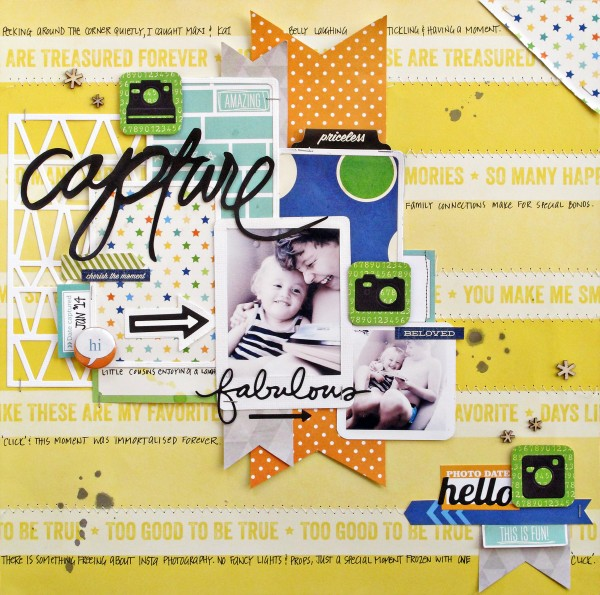 Scrapbooking Ideas Inspired by Kim Watson's Layouts