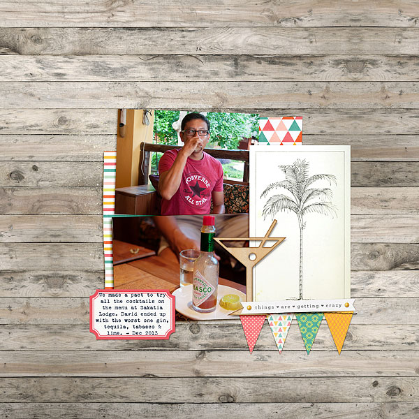 Scrapbooking Process When Your Starting Point is Product | Heather Awsumb | Get It Scrapped