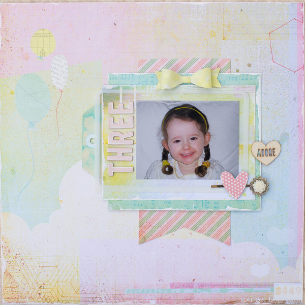 Scrapbooking Process When Your Starting Point is Product | Kristy T | Get It Scrapped
