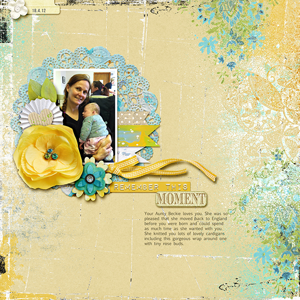 Scrapbooking Process When Your Starting Point is Product | Vicki Hibbins | Get It Scrapped