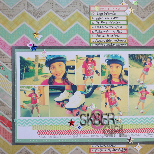 Scrapbook Page Storytelling with Retro-Filtered Photos | Katie Scott | Get It Scrapped