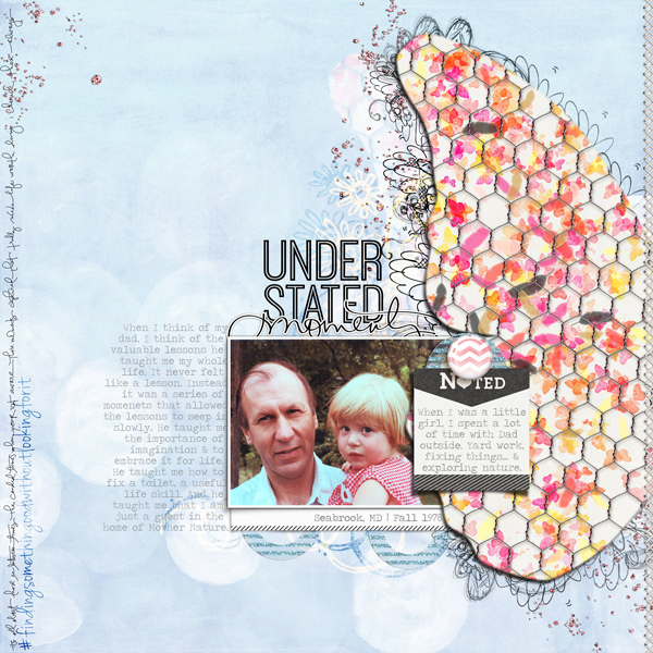 Scrapbook Page Inspiration and Storytelling Ideas from an Unexpected Motif: Wing Detail  | Carrie Arick | Get It Scrapped