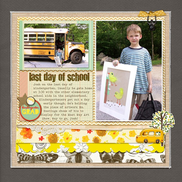 Ideas for Scrapbook Page Storytelling with Badges | Debbie Hodge | Get It Scrapped
