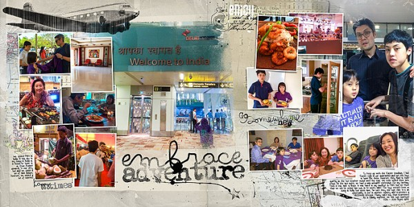 Scrapbooking Ideas for Summarizing a Vacation on One Layout | Audrey Tan | Get It Scrapped