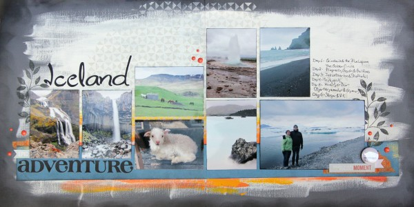 Scrapbooking Ideas for Summarizing a Vacation on One Layout | Gretchen Henninger | Get It Scrapped