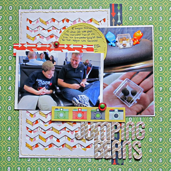 Add Layers Behind Negative Space and Cutaways That Strengthen Scrapbook Page Storytelling | Christy Strickler | Get It Scrapped