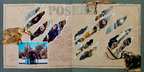 Add Layers Behind Negative Space and Cutaways That Strengthen Scrapbook Page Storytelling | Michelle Houghton | Get It Scrapped