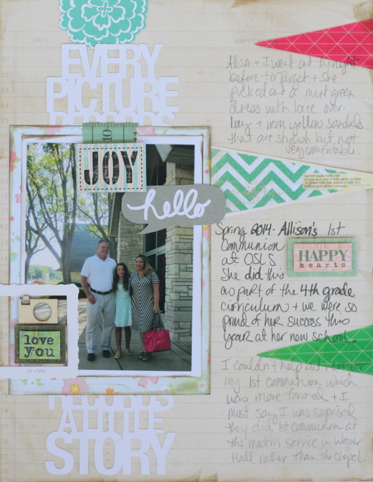 Scrapbooking Ideas Inspired by Amy Kingsford's Layouts  |Katie Scott | Get It Scrapped