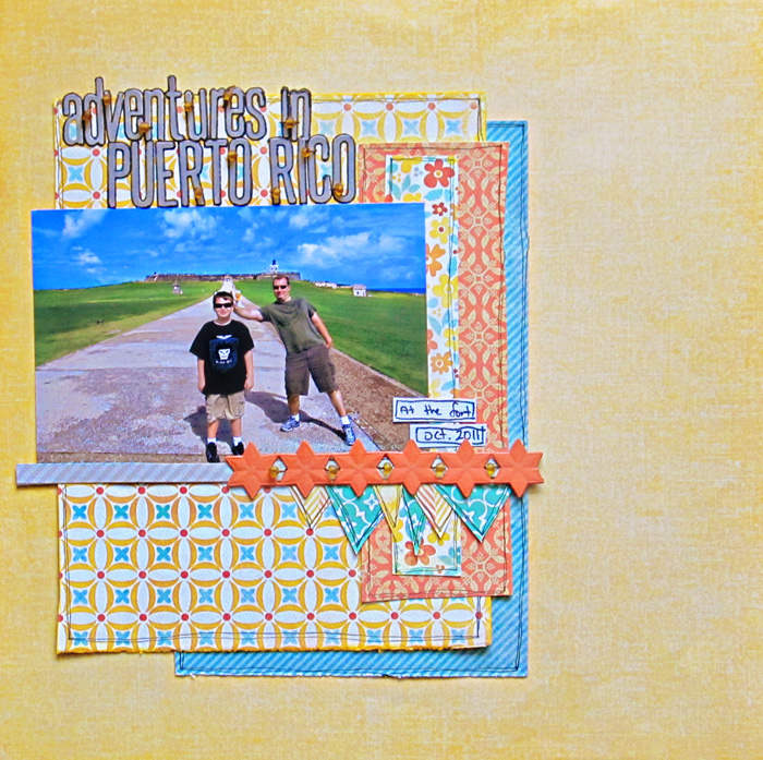 Scrapbooking Ideas Inspired by Kim Watson's Layouts | Christy Strickler | Get It Scrapped