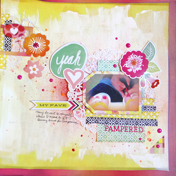 Scrapbooking Ideas Inspired by Kim Watson's Layouts | Gretchen Henninger | Get It Scrapped
