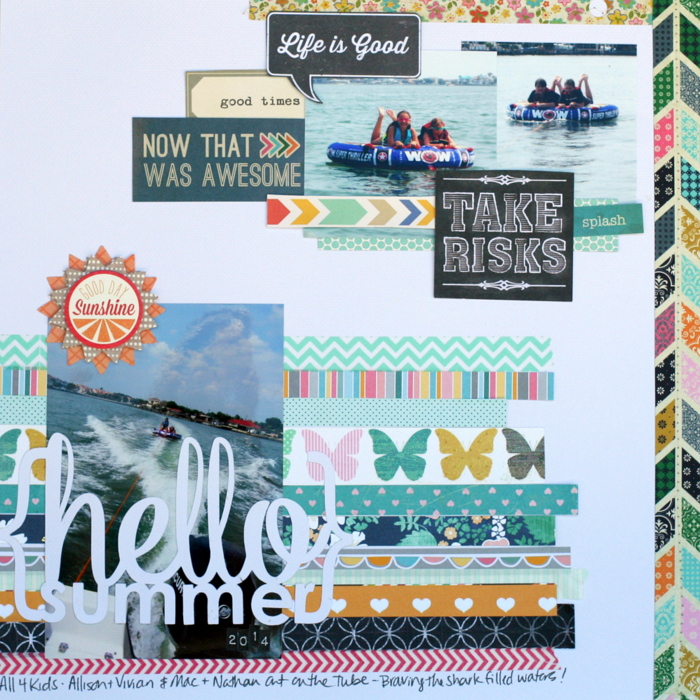 Scrapbooking Ideas Inspired by Kim Watson's Layouts | Katie Scott | Get It Scrapped