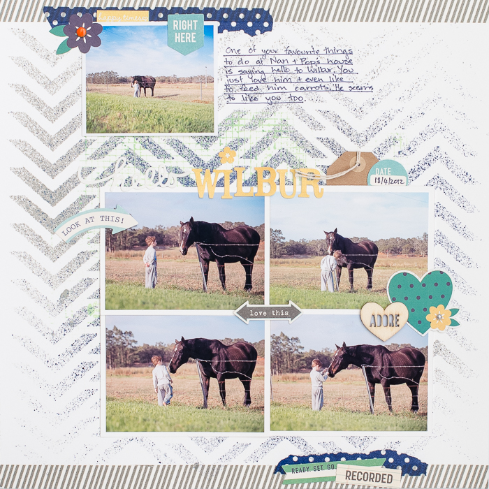 Scrapbooking Ideas Inspired by Kim Watson's Layouts | Kristy T | Get It Scrapped