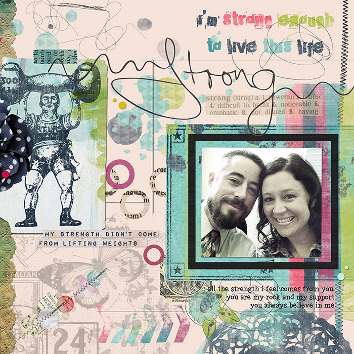 Scrapbooking Ideas Inspired by Kim Watson's Layouts | Summer Christiansen | Get It Scrapped