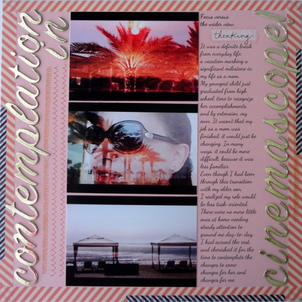 Build Your Own Suite of Favorite Fonts for Scrapbook Page Titles |Susanne Brauer | Get It Scrapped