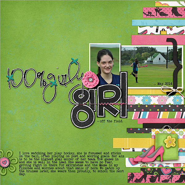 Build Your Own Suite of Favorite Fonts for Scrapbook Page Titles | Stefanie Semple | Get It Scrapped