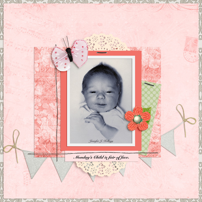 How to Push Your Scrapbook Page Pattern Story | Jennifer Kellogg | Get It Scrapped
