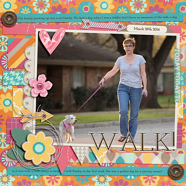 How to Push Your Scrapbook Page Pattern Story | Ronnie Crowley | Get It Scrapped