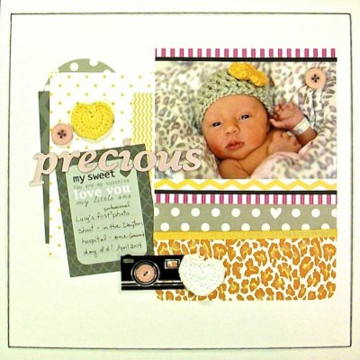 How to Push Your Scrapbook Page Pattern Story | Sue Althouse | Get It Scrapped