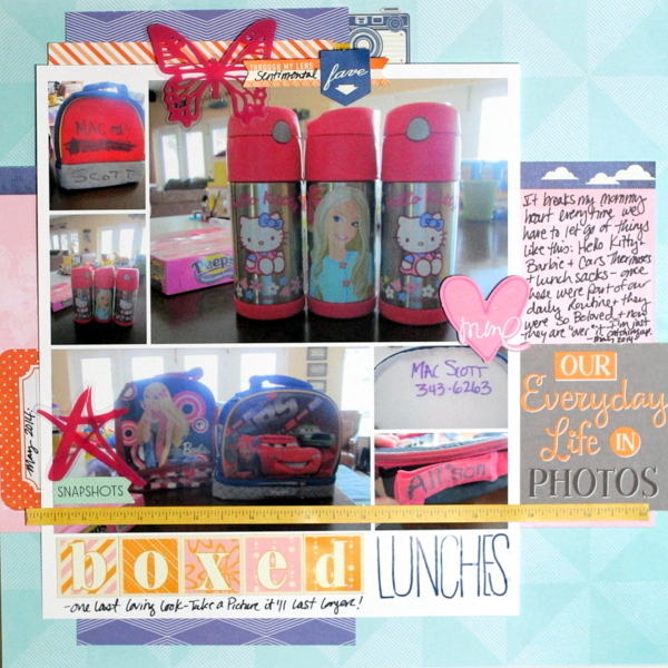 Ideas for Scrapbook Page Storytelling with Staged Still Life Photos | Katie Scott | Get It Scrapped