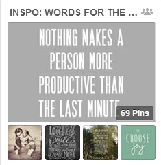 Get Scrapbook Ideas from Pins of Inspirational Quotes | Get It Scrapped
