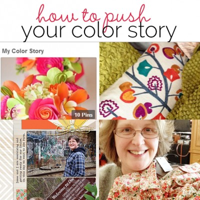 How to Push Your Scrapbook Page Color Scheme Story | Get It Scrapped