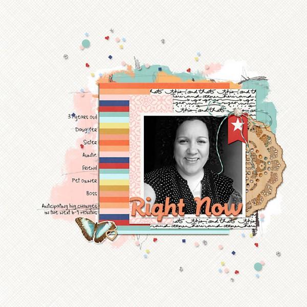 Scrapbooking Ideas Inspired by Corrie Jones' Layouts | Heather Awsumb | Get It Scrapped