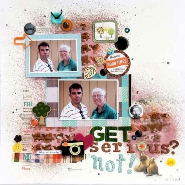 Scrapbooking Ideas Inspired by Corrie Jones' Layouts | Karen Poirier-Brode | Get It Scrapped